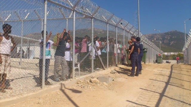 Detention Centre bei Athen